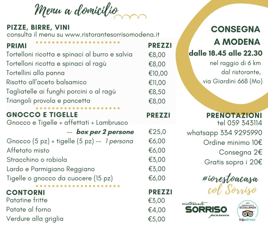 Consegna a Domicilio a Modena